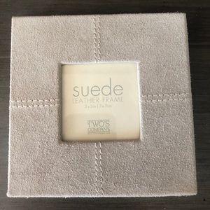 Suede Frame 3x3